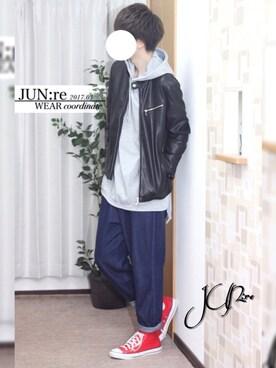 JUN:reさんの(MONO-MART|モノマート)を使ったコーディネート
