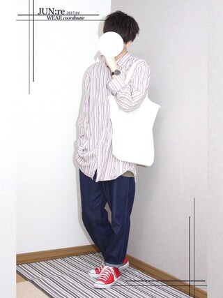 「CONVERSE / CVS ALL STAR  HI(CONVERSE)」 using this JUN:re ⍟ looks