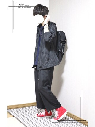 「WEGO/コーチジャケット(WEGO)」 using this JUN:re ⍟ looks