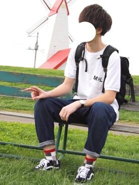 JUN:reさんの(MHL.|エムエイチエル)を使ったコーディネート
