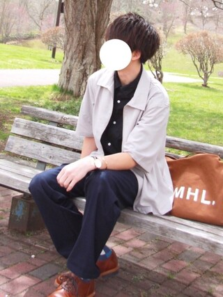 「HEAVY CANVAS(MHL.)」 using this JUN:re looks