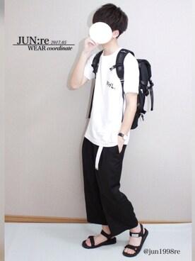 JUN:reさんの(JUNRed|ジュンレッド)を使ったコーディネート