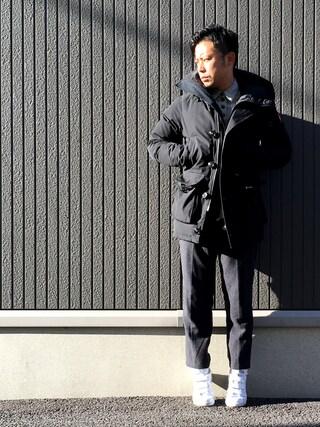 ShiNichiさんの「ツイードガラトラウザー/467829(RAGEBLUE レイジブルー)」を使ったコーディネート
