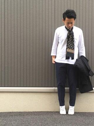 ShiNichiさんの「リバーシブルステンカラーコート#(JOURNAL STANDARD relume ジャーナルスタンダード レリューム)」を使ったコーディネート