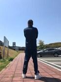 手こき☆ is wearing adidas