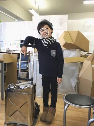 chobeanさんの「【Lee×CIAOPANICTYPY】コラボデニムポケットスウェットプルオーバー(Lee|リー)」を使ったコーディネート