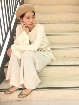 DouDou 広島パルコ店|doudou_yuri_さんの(DouDou|ドゥドゥ)を使ったコーディネート