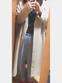 さーたんさんの「【WEB限定カラー】P/PUテーパードパンツ 746730(apart by lowrys|アパートバイローリーズ)」を使ったコーディネート