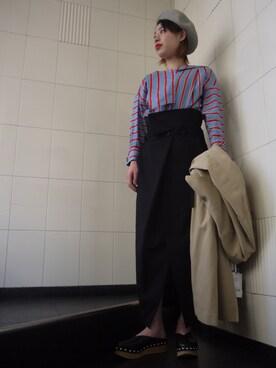 MIDWEST NAGOYA WOMEN|tomimuraさんの(KIJIMA TAKAYUKI|キジマ タカユキ)を使ったコーディネート
