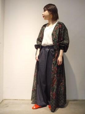 MIDWEST NAGOYA WOMEN tomimuraさんの(muller of yoshiokubo ミュラー オブ ヨシオクボ)を使ったコーディネート