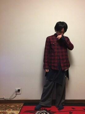 hiroshiさんの(NECESSARY or UNNECESSARY ネセサリーオアアンネセサリー)を使ったコーディネート