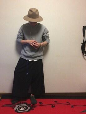 hiroshiさんの(BED J.W. FORD|ベッドフォード)を使ったコーディネート