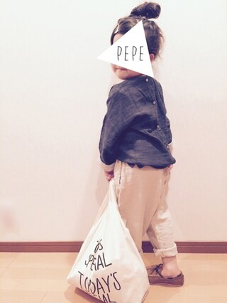 pepeさんの「ミニマルシェバッグ / Mini Marche Bag(CIBONE|シボネ)」を使ったコーディネート