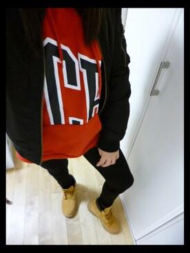 「Timberland ティンバーランド W'S 6 IN PREMIUM BOOT _(JR) ウィメンズ 6インチ プレミアム ブーツ(JR) #12909 WHEAT(Timberland)」 using this ❥❥ haruuu looks