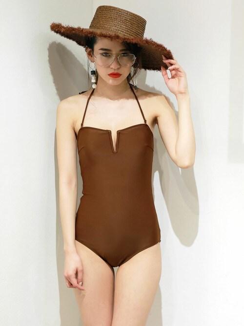 MURUAさんの「backレースアップswimwear(MURUA)」を使ったコーディネート