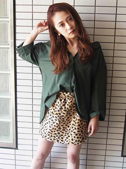 MURUAさんの「バックリングシャツ(MURUA)」を使ったコーディネート