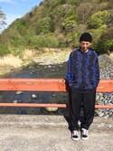 Minoruさんの「A.D.S.R エー・ディー・エス・アール SATCHMO サングラス(A.D.S.R. エーディーエスアール)」を使ったコーディネート