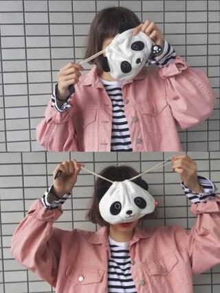 「ポケット付き9分袖TEE(ikka)」 using this ちょこび looks