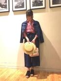 miisan*さんの「SLRフレデリック カラーマスコット(SHOO・LA・RUE|シューラルー)」を使ったコーディネート