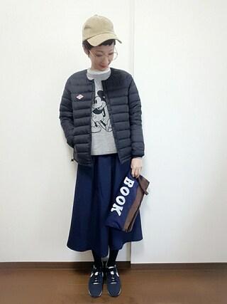 「裾刺繍ブラウスプルオーバー(archives)」 using this rii looks