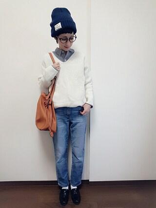 「巾着ショルダー(archives)」 using this rii looks