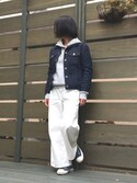 「Converse Chuck Taylor All Star Slip Sneakers(CONVERSE)」 using this kni looks