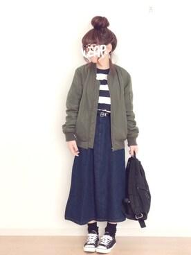 みぃ☆。.:*・゜さんの(marimekko|マリメッコ)を使ったコーディネート