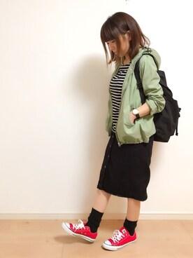 みぃ☆。.:*・゜さんの(RETRO GIRL|レトロガール)を使ったコーディネート