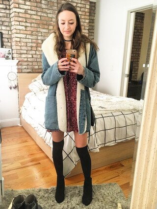 「Women's Steve Madden Shrines Bootie(Steve Madden)」 using this girlwiththebigeyes looks