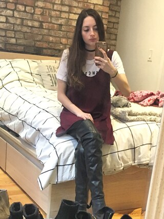 「ALDO Women's Asteille Over-The-Knee Dress Boots(Aldo)」 using this girlwiththebigeyes looks