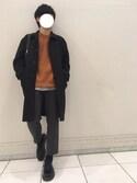 HIROKIさんの「Bright Leather Editers(nano・universe|ナノユニバース)」を使ったコーディネート