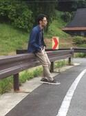 Yuta Yasuiさんの(古着|ジーユー)を使ったコーディネート