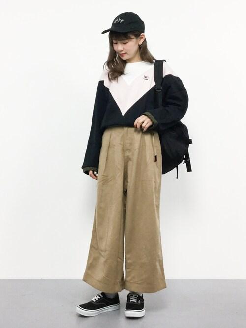 カジュアルなストリート系~レディースファッション~