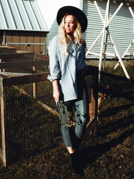 「Women's Blanknyc Step Hem Skinny Jeans(Blank NYC)」 using this Tiffany Rain looks