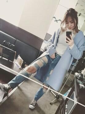 Kumiko styleさんの(CONVERSE|コンバース)を使ったコーディネート
