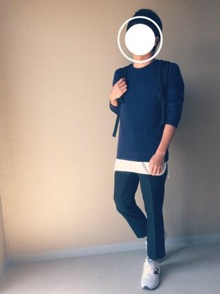 「WEGO/クルーネックロングTシャツ(WEGO)」 using this Nao looks