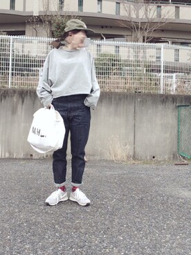 sandyさんの「メンテンBIGBIG Tシャツ【niko and ...】(niko and...)」を使ったコーディネート