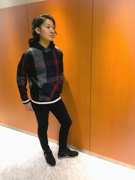 ブルーレーベル/ブラックレーベル・クレストブリッジZOZOTOWN店|HisayukiOguriさんの(BLACK LABEL CRESTBRIDGE)を使ったコーディネート