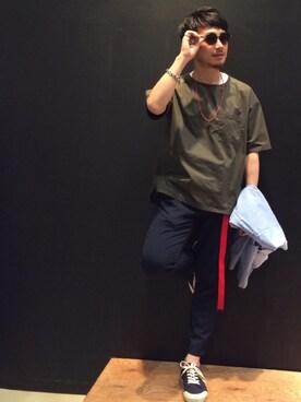 THE SHOP TK イオン八代|soulmanさんの(THE SHOP TK|ザ ショップ ティーケー)を使ったコーディネート