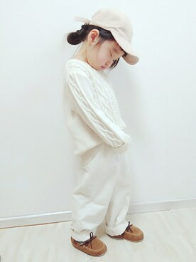 keeikiii♡さんの「ワンポイントスウェードキャップ(petit main|プティマイン)」を使ったコーディネート