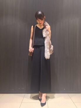 abahouse LE LUNDI JR名古屋高島屋店|chinamiさんの(FONCE|フォンセ)を使ったコーディネート