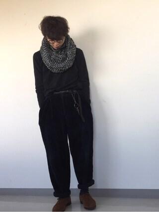 seiya katoさんの「ANKLE CUT SLIM PANTS (MAIN LINE)(Paul Smith|ポール・スミス)」を使ったコーディネート