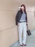 noko→さんの「秋冬新作★ミドルヒールパンプス★6703(ORiental TRaffic|オリエンタルトラフィック)」を使ったコーディネート