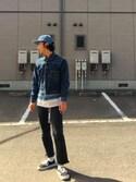 Seshimo Takayukiさんの「AUTHENTIC(VANS|バンズ)」を使ったコーディネート