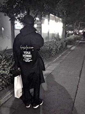 HirôtaKa_Satoさんの(Yohji Yamamoto POUR HOMME)を使ったコーディネート