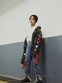 (off white) using this 悦张queen looks