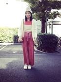 ka-raさんの「フロントベルトショルダーバッグ【PLAIN CLOTHING】(PLAIN CLOTHING|プレーンクロージング)」を使ったコーディネート