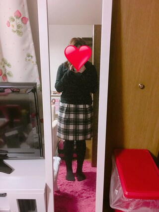みさきさんの「シャギーコクーンスカート 741734(LOWRYS FARM ローリーズ ファーム)」を使ったコーディネート