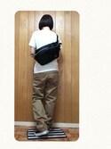 ★miri★さんの「JACKSON / NEW WAIST BAG(HEAD PORTER ヘッドポーター)」を使ったコーディネート