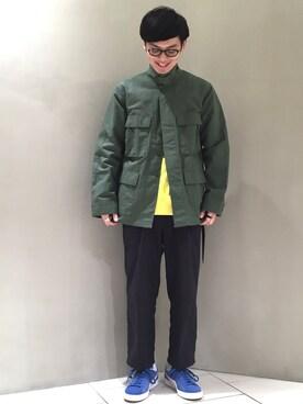 ビューティ&ユース ユナイテッドアローズ 仙台店|Keisuke Oobaさんの(Engineered Garments|エンジニアードガーメンツ)を使ったコーディネート